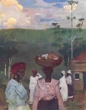 BRAZIL. Evening Scene at Pirapora, Minas Geraes 1908 old antique print picture