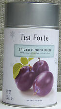 TEA FORTE SPICED GINGER PLUM LIMITED EDITION HERBAL TEA LOOSE 3.17 OZ(90g) NEW