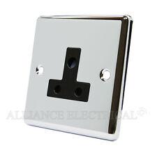 MATT Black classica ROUND PIN 5 Amp Presa-CPC 5 asocbl