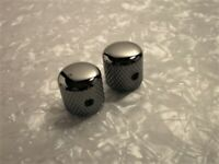 Gotoh Cosmo Black Dome Metal Knob For Ibanez Electric Guitar Bass 19mm/19mm/6mm