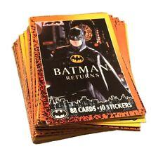 #1-88 TOPPS 1992 BATMAN RETURNS Full Set of TRADING CARDS + Stickers 90s MOVIE