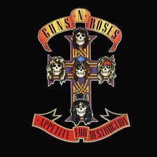Guns N Roses-Appetite For Destruction Skulls Vinyl LP Cover Sticker or Magnet
