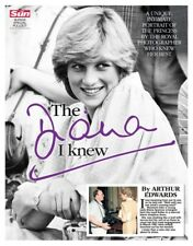 Princess The Diana I Knew Arthur Edwards Tribute Newspaper 20th Anniversary