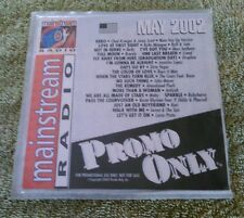 Promo Only Mainstream Radio Series CD May 2002 Brandy Moby Jennifer Lopez Nelly