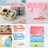 Microwave Bento Lunch Box Picnic Food Fruit Container Storage For Kids Box M2H8