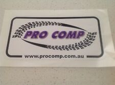4x4 4WD RACING TYRES STICKER,TOYOTA FORD HOLDEN MAZDA 4WD V8 SPRINGS PRO COMP