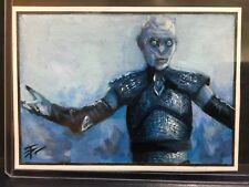 Game of Thrones Hand-Drawn Color Sketch Card by Tim Proctor The Night King 1/1