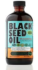 100% Pure Cold-Pressed Black Seed Oil 8 oz-Glass bottle made in NY