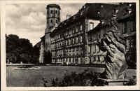 ~1940 alte Postkarte Barock Stadt FULDA Hessen Partie am Schloss Castle postcard
