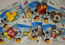 New & Sealed Disney Kawaii Squeezies Series 1 Mickey Mouse Set of 8 Squishy Toys