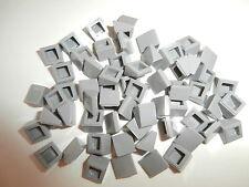 LEGO 60 schräge Fliesen / Dachziegel 54200 hellgrau / medium stone grey 1x1x2/3