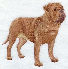 Large Embroidered Zippered Tote - Dogue de Bordeaux C9646