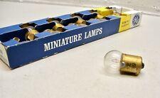 89 GE Incandescent Light Lamp Bulb 12V Vintage NOS has USA Stamped - PACK OF 10