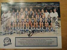 UConn Huskies Women's Basketball 1999 Team Photo w/ Geno & Coaches' Autographs
