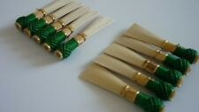 10 high quality bassoon reed blanks from GHYS  cane Fox2  /dukov_reeds GHYSF2/