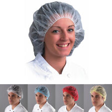Disposable Mob Caps Hair Net Food Catering Kitchen Restaurant Workwear Hat
