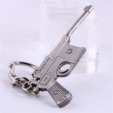 Lady Car Keyring for ford Gift Keychain Metal Key Chain Ring Pistol Charm Keyfob