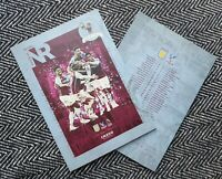 Aston Villa v Crystal Palace PREMIER LEAGUE Programme 26/12/20! READY TO POST!!