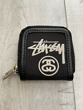 New Stussy Black Small Coin Purse