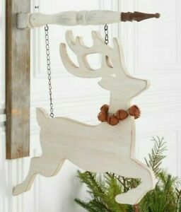 """""""CUTOUT REINDEER"""" Replacement Sign - Wood Sign for Country Arrow Holders"""