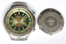 Seiko 7015-8000 Speed-timer Chronograph Watch for Restore Hobby Watchmaker