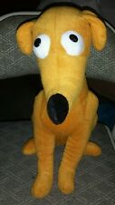 "THE SIMPSONS PLUSH 14"" DOG SANTA'S LITTLE HELPER UNIVERSAL STUDIOS FLORIDA 2014"