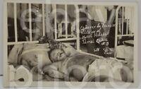 RPPC Photo Postcard Cadaver Corpse Francisco Pancho Villa Pancho Hotel Hidalgo