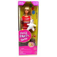 1998 Special Edition Coca-Cola Party Barbie Doll  WORN Box