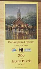 NEW SunsOut Undampened Spirits By Jack Terry 300 pc Jigsaw Puzzle