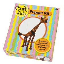 GIRAFFE fantoccio KIT per astuti KIDS-incoraggiare menti creative