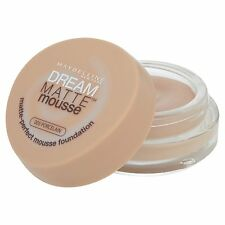 Maybelline Dream Matte Mousse Foundation 005 Porcelain Face Makeup Cream Pot