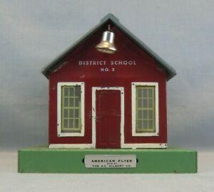 American Flyer S Scale 50 District School No. 2