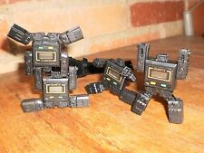 Lot 4 VINTAGE ROBOT Wrist Watch Pre-Transformers 70s/80'  no BOX  Quartz lot#