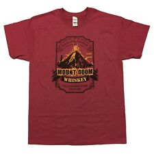 LORD OF THE RINGS inspired T-shirt (S-2XL): Mount Doom Whiskey > Screenprint