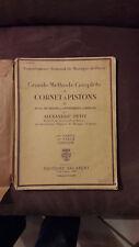 Méthode complète de cornet à pistons, édition 1921