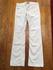 Women's Denim of Virtue White Straight Leg Jeans Size 26, EUC!