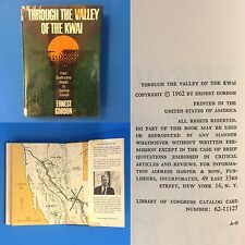 1st Edt Through the Valley of the Kwai by Ernest Gordon 1962 HB/DJ WW2 POW