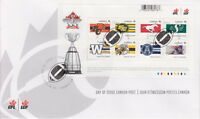 CANADA #2558 CFL TEAMS SOUVENIR SHEET FIRST DAY COVER