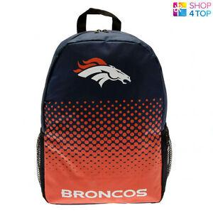 DENVER BRONCOS BACKPACK TRAVEL BAG AMERICAN FOOTBALL TEAM OFFICIAL NEW