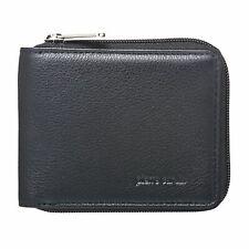 Pierre Cardin Mens Genuine Italian Leather Classic Zip Wallet PC10344 Mothers