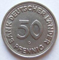 Top! 50 Pfennig 1949 G En Very fine