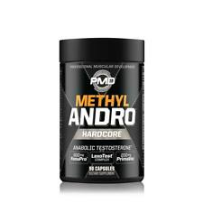 PMD Methyl ANDRO (NEW LOOK) - Testosterone Amplifier- 90 Caps - FREE SHIPPING
