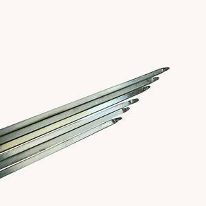 Kebab BBQ Skewers Needle Barbecue Kabob Packs of 6 - 4mm×4mmx60cm. Free Delivery