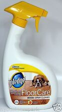 Pledge Floor Care Wood Spray Cleaner Safely Clean Shine Restore & Protect 32oz ❤