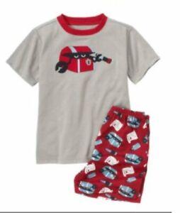 NWT Gymboree XS 3-4 Crab Boy's 2 Piece Gymmies Pajamas