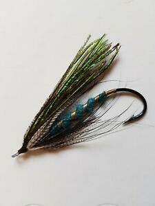 Vintage Gut Eye Salmon Fly 7/0