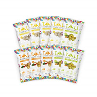 Taali Variety Pack Water Lily Pops 10-Pack - Three Delicious Flavors | Roasted |