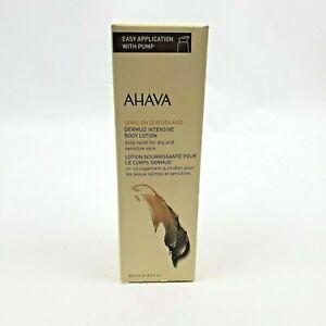 AHAVA  Leave-On Deadsea Mud Dermud Intensive Body Lotion 8.5oz