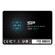 "Silicon Power 256GB SSD 3D NAND A55 SLC Cache Performance Boost SATA III 2.5"""