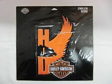 HARLEY DAVIDSON LARGE SCREAMIN EAGLE WINGS BAR SHIELD EMBROIDERED PATCH EM593646